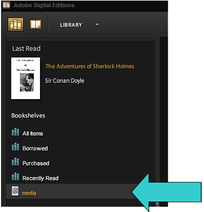 Device appears in ADE library